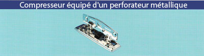 Compresseur Perforateur